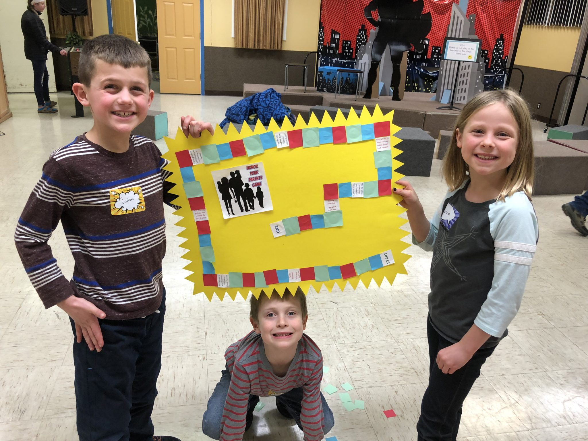 King's Kids crafts
